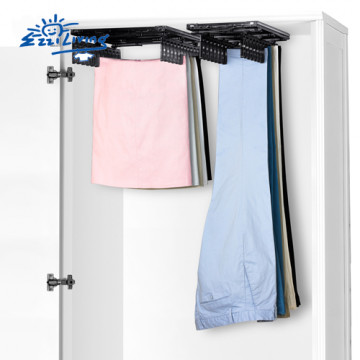 EZ Skirt (CP) and Trouser (BP) Clothespin for wardrobe